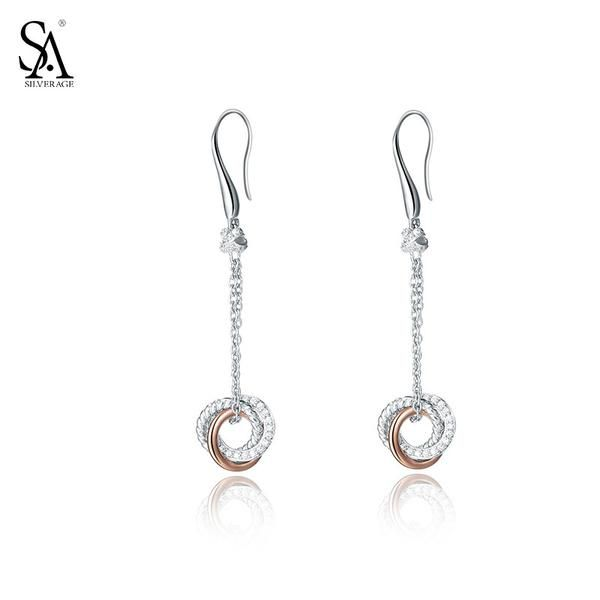 Silver Drop Dangle Earring | Genuine 925 Sterling Silver