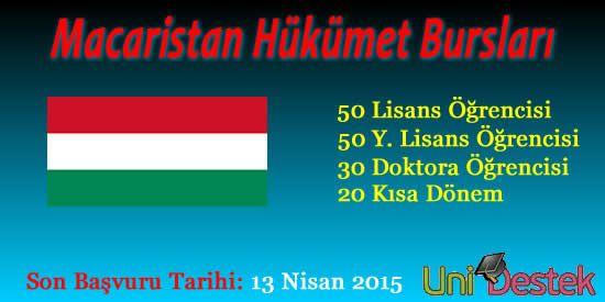 Yabancı Hükümet Bursları-Macaristan | Üniversite Burs, Staj, Yarışmalar ve Bölümler