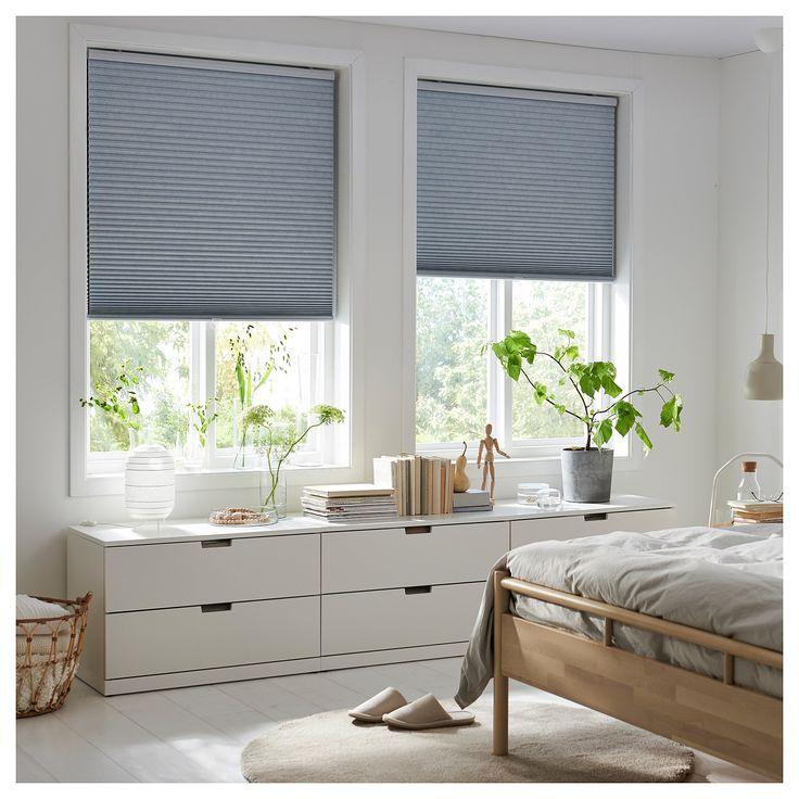 black out cellular blind trippevals light gray in 2019. Black Bedroom Furniture Sets. Home Design Ideas