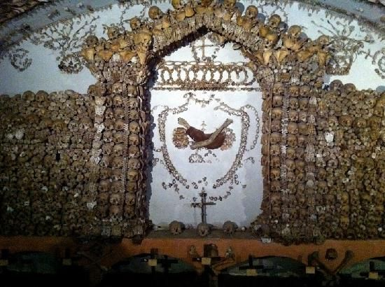 Inside the Capuchin crypt