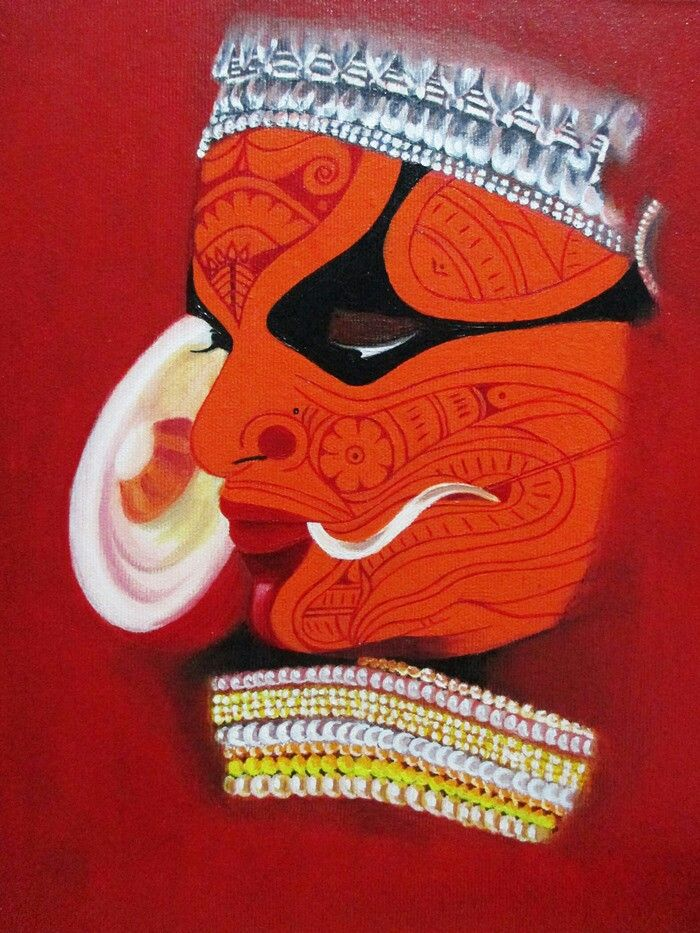 Theyyam Buy/Sell paintings and Art prints online at www.abstract4life.com Find Art work that matches your style. Rich collection of paintings and sketches.