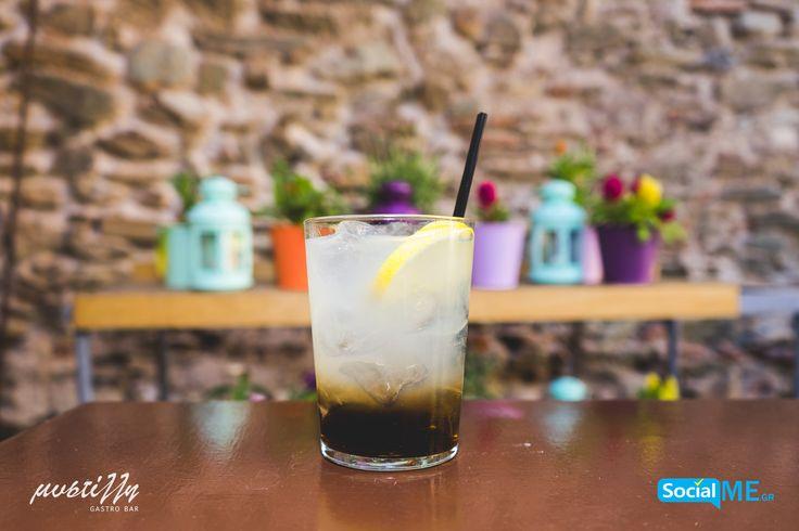 Το Cocktail της ημέρας στο @[Μυστίλλη – Mystilli] είναι το Long Island  🍹 (Ice Tea, Τεκίλα Blanco, Gin, Rum, triple sec, vodka, fresh lemon juice, coca cola)