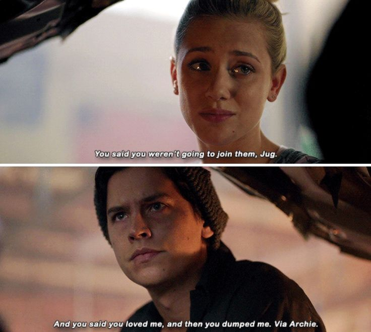 Riverdale 2x06 - Betty, you did the one thing that could actually hurt me.