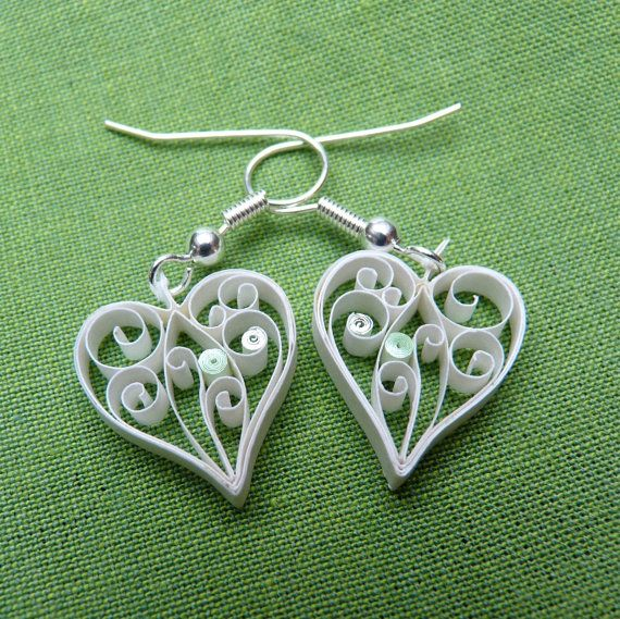 more quilled earrings
