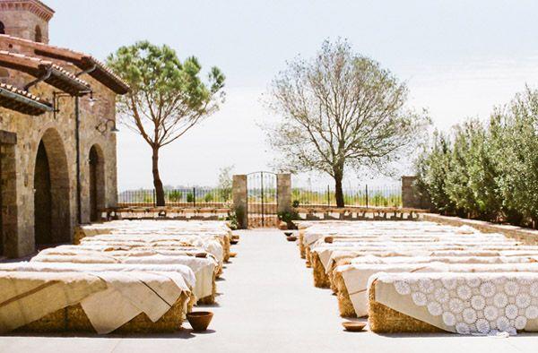 boda rustica + balas de pajas / Janelle Sotelo - Wedding Planner