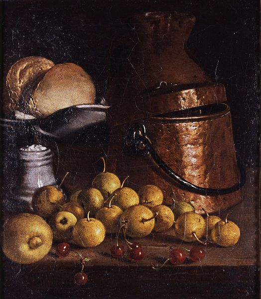 File:Meléndez, Luis - Still Life with Fruits and Cooking Utensils - Google Art Project.jpg