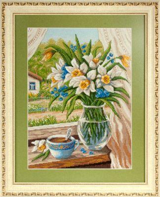 Набор для вышивания крестом Panna Н-1289 Майское утро