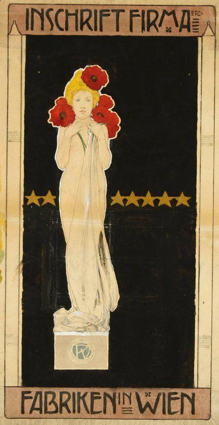 Poster design by Vojtěch Preissig, 1903. www.esbirky.cz, CC0