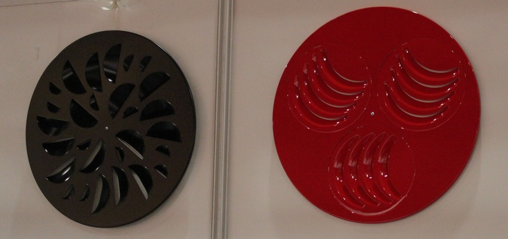 Design and Comfort solutions for commercial ventilation: Black NEX-S and Red PLAY-S
