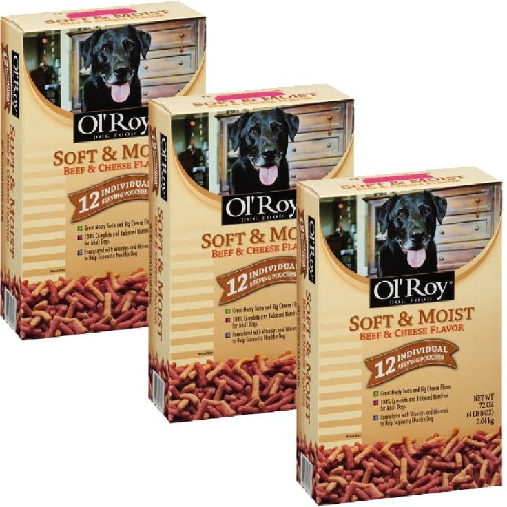 Ol' Roy Soft and Moist Beef and Cheese Flavor Dog Food 72 oz. Box, (12 individual pouches) - 3 BOXES >>> You can find more details by visiting the image link. (This is an affiliate link and I receive a commission for the sales) #PetDogs