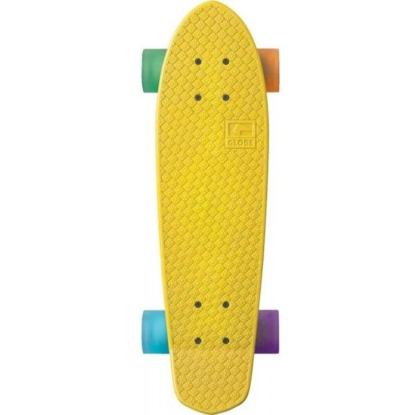 Globe | Globe Cruiserboards | Plastic Skateboards (£85) ❤ liked on Polyvore featuring fillers, skateboards, skate, misc and yellow fillers
