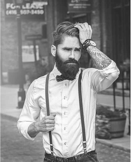 beards carefully curated — Adam