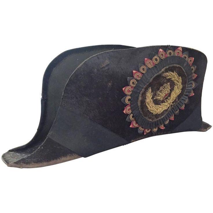 Great Early American Bicorn Hat from Masonic Order Lodge Odd Fellows 1