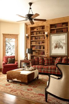 red plaid furniture | Plaid Couch Design Ideas, Pictures, Remodel, and Decor
