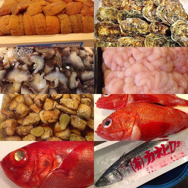 こんにちわ〜😃本日のオススメのご紹介です\(^-^)/ 寒くなって来たので、お魚たちは益々美味しくなって来てます😋 久々に赤ナマコ、当店仕込みのあん肝の煮付け、 真鱈の白子も今年は美味しいですし、 どれも良い食材が仕入れれました! ご来店お待ちしてますm(_ _)m #とらっとり屋一宮 #一宮 #居酒屋 #美味しい刺身 #魚 #肉 #野菜 #ビール #日本酒 #焼酎 #市場 #仕入れ #オススメ#料理#刺身#焼魚#唐揚げ#煮魚