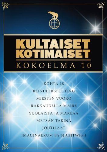 Kultaiset kotimaiset - Kokoelma 10 (DVD)