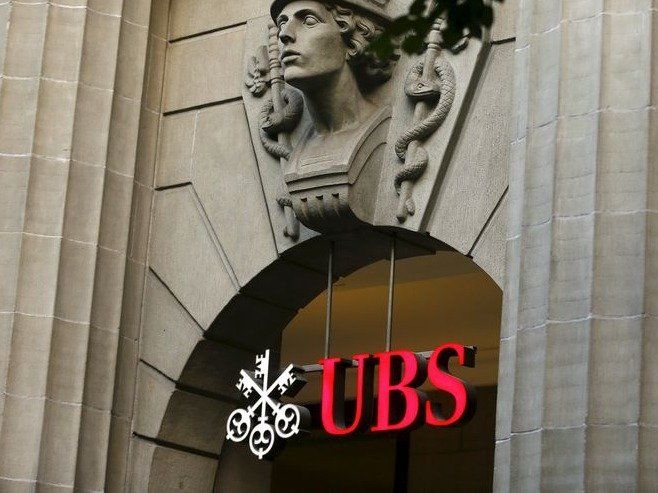 The logo of Swiss bank UBS is seen at its headquarters Zurich in this July 27, 2015 file photo. To match story SWISS-BANKS/ASIAPAC-WEALTH REUTERS/Arnd Wiegmann/Files
