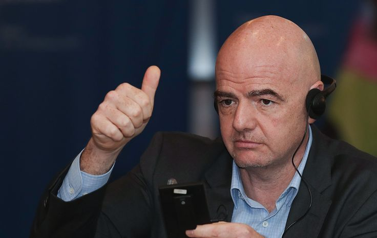 Gianni Infantino is no game-changer. He's the ultimate 'company man' writes SKINS Chairman.