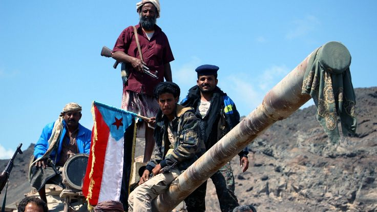 Yemeni cabinet ministers are reported to be holed up inside the presidential palace in Aden.