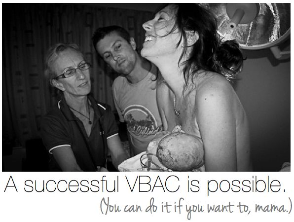 You can do it, mama. Yes you can. (A successful VBAC birth story.)