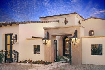 CURB APPEAL – another great example of beautiful design. Carson Poetzl, Inc. with mediterranean exterior in phoenix by Carson Poetzl, Inc.