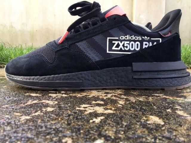low priced 5ca01 2e4e7 Details about Adidas ® ZX 500 RM Originals Size 10 UK Men ...
