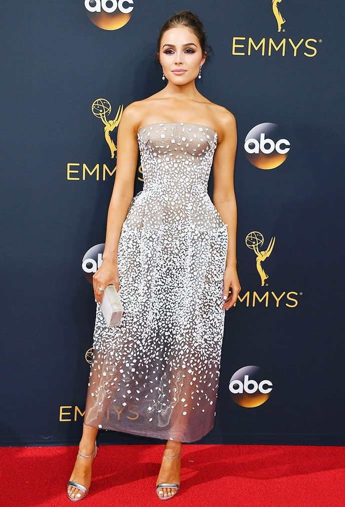 The Emmys Red Carpet Looks Everyone Will Be Talking About via @WhoWhatWear: Olivia Culpo in Zac Posen