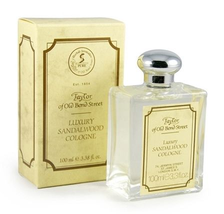 Taylor of Old Bond Street Sandalwood Cologne. If I wear an everyday cologne, 99% of the time it's this. The scent is light and pleasant while being very masculine and clean.