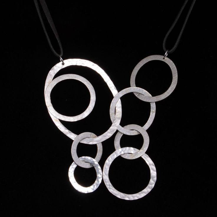 Colgante de plata | Joyas hechas a mano/Hand made jewelry | www.facebook.com/DeDiosas
