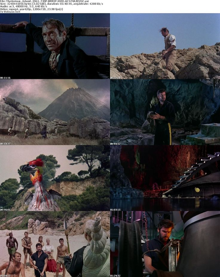 17 Best images about MYSTERIOUS ISLAND (1961) on Pinterest ...