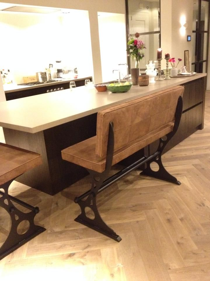 2 barbanken aan keukeneiland Dealer: Oké Woonstyle info@oke-woonstyle.nl of oddcollection2.0@gmail.com