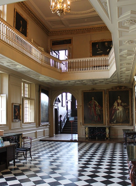 The Great Hall: Ham House by curry15, via Flickr... From... http://www.flickr.com/photos/47071837@N02/6883588298/in/photostream/