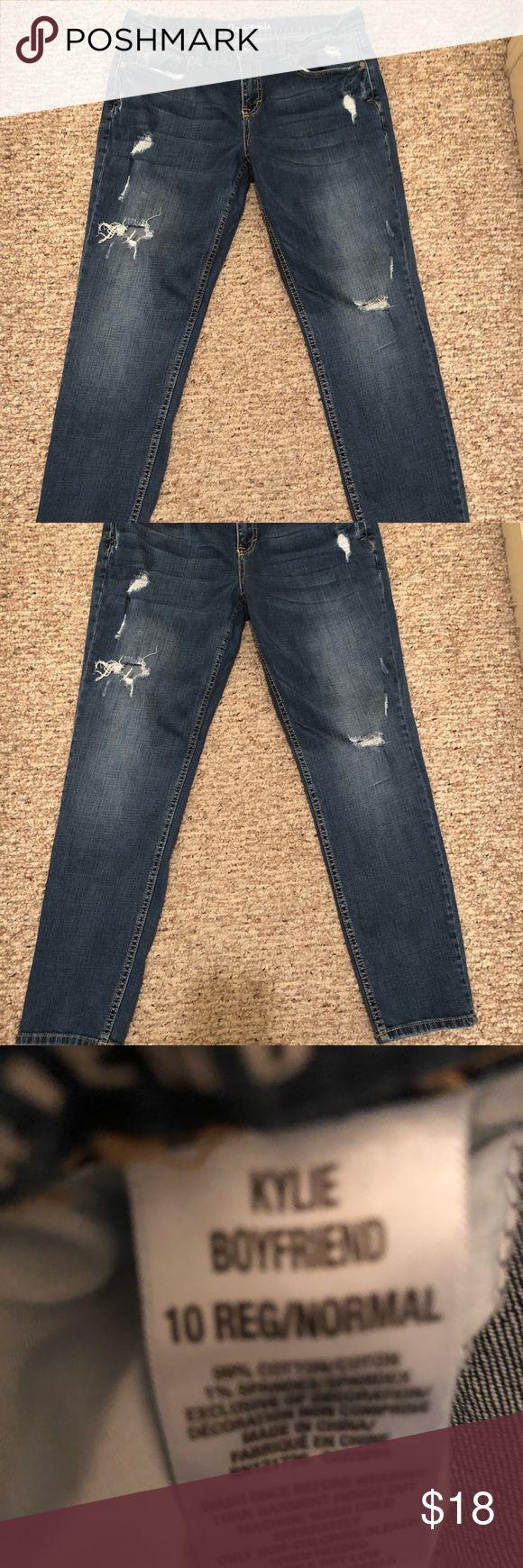 Women's Aeropostale boyfriend jeans.  Size 10 Aeropostale Jeans, Size 10, Kylie style.  EUC! Aeropostale Jeans Boyfriend
