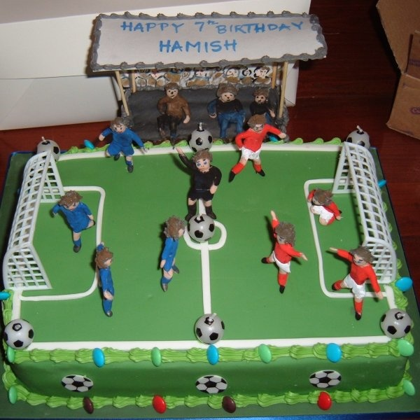 Football Pitch Cake Images