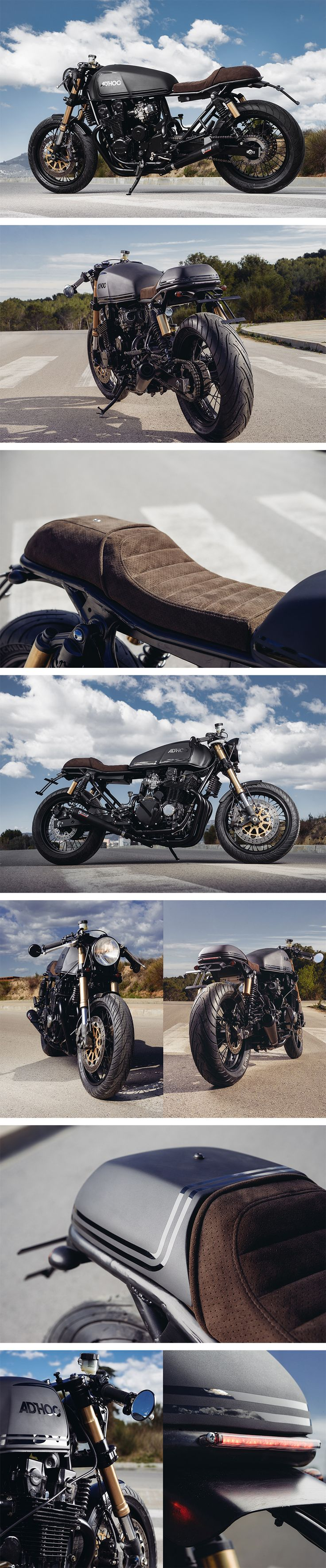 Honda CB750 by Adhoc Cafe Racers
