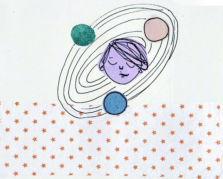 My planet_Fedushkaja #planet #FedericaTeti #Illustration