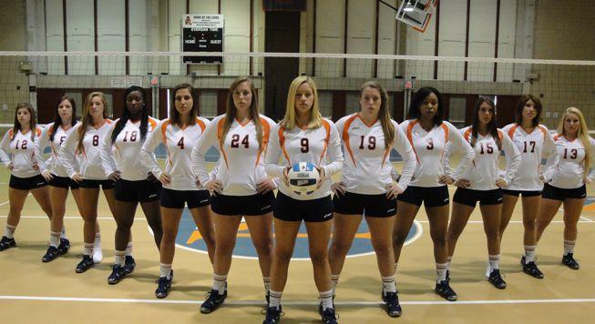 Women's College Volleyball   Nassau Community College Women's Volleyball Team Photo 2012