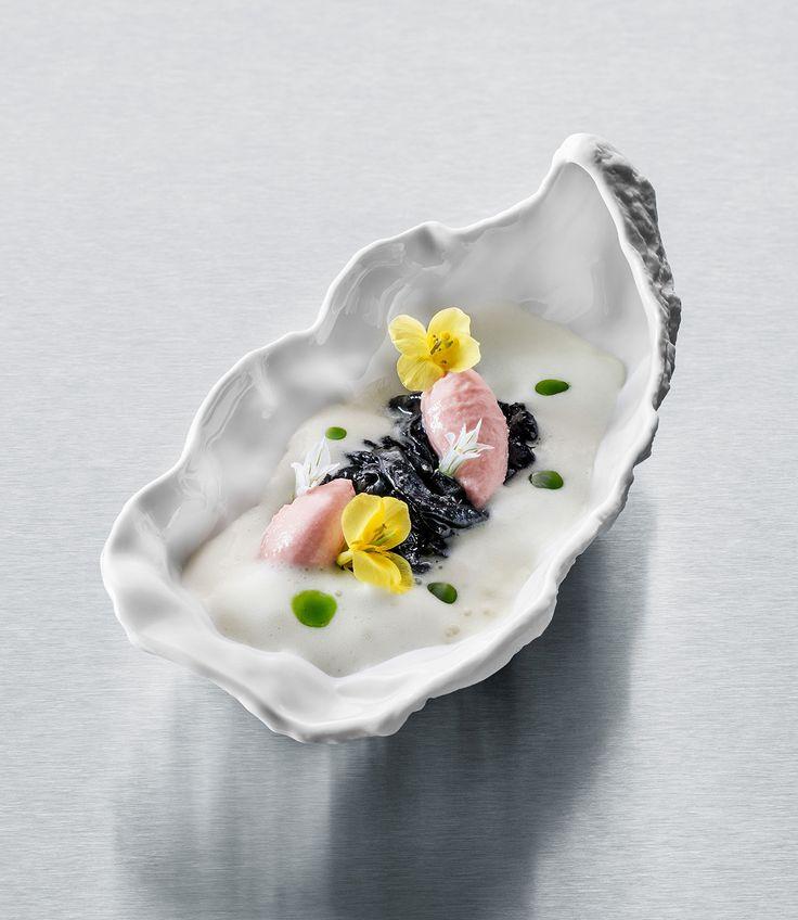 by Slovenian Chef Ana Ros, for Ikarus Restaurant in Salzburg, Austria