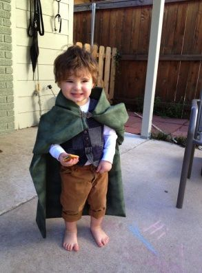 We love this little hobbit! (31 ridiculously adorable toddler Halloween costumes)