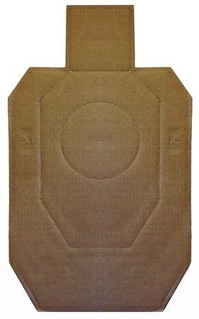Law Enforcement Targets IDPA Official Competition Cardboard Target 18.25x30.75 Inch 100 Per