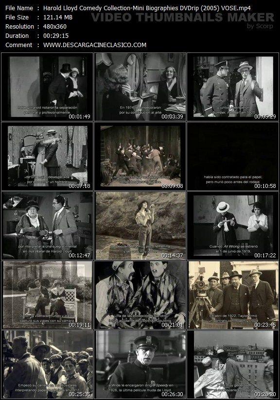 Harold Lloyd Comedia Colección: Mini Biografías 2005