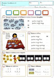 lfichiers d'exercices problèmes illustrés à choisir