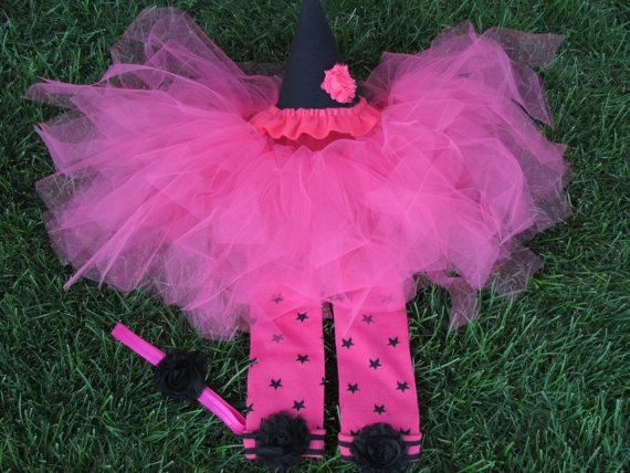 Baby Witch Costume tutu Toddler Witch Costume by Appleberryblue, $39.50