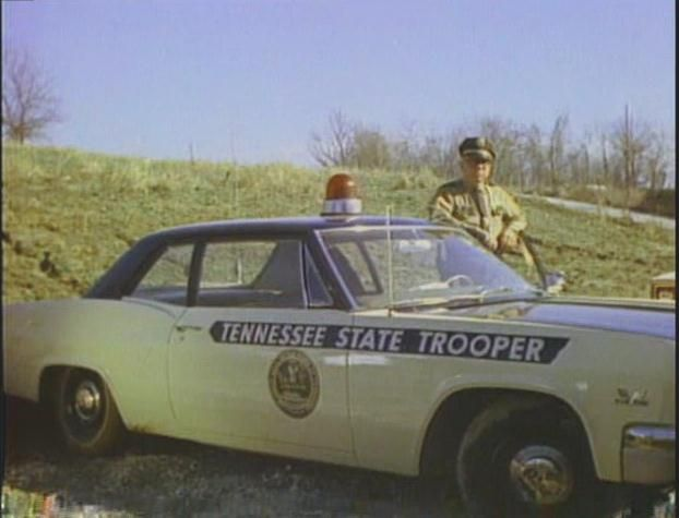 1966 Chevy Biscayne Tennessee State Trooper Vehicle