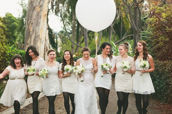 Opaque tights for winter #bridesmaids! - photo by Whitney Darling http://ruffledblog.com/ruffled_galleries/stylish-san-juan-capistrano-wedding/stylish-san-juan-capistrano-wedding-28/