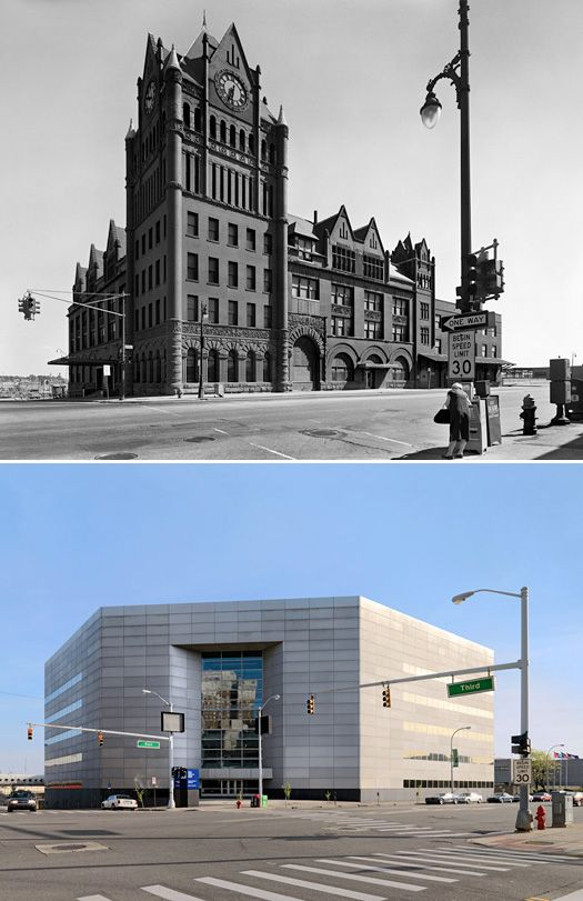 Abandoned Ruins of Detroit:Michigan Before & After
