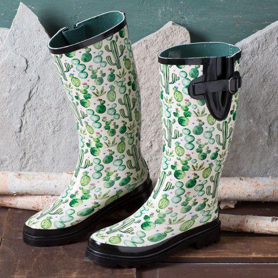 Blazin Roxx Cacti Rain Boots