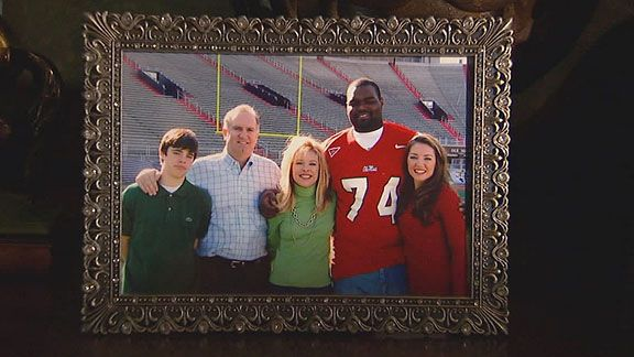 Michael Oher (and family)