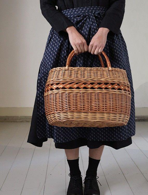 [エンベロープオンラインショップ] ラトビアのカゴ Lisette フランスのカゴ展