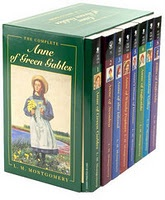 Anne of Green Gables, Anne of Avonlea,  Anne of the Island, Anne of Windy Poplars, Anne's House of Dreams, Anne of Ingleside, Rainbow Valley, Rilla of Ingleside  by L.M. Montgomery